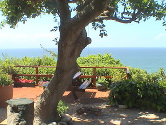 Paradise with panoramic sea views.R800 per night for 2 people